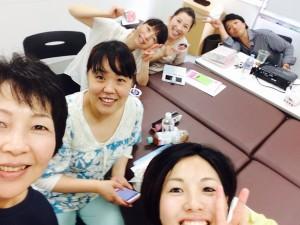 岡山市で女性専用のエステティシャンがさとう式リンパケアの勉強です
